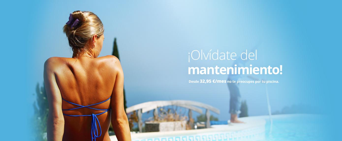 Mantenimiento de piscina desde 32,95 Euros/Mes
