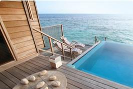 Terrazas con piscina