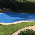 Instalación de un cobertor de piscina en Valencia