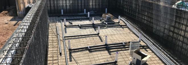 Construcción de una piscina en Torre en Conill